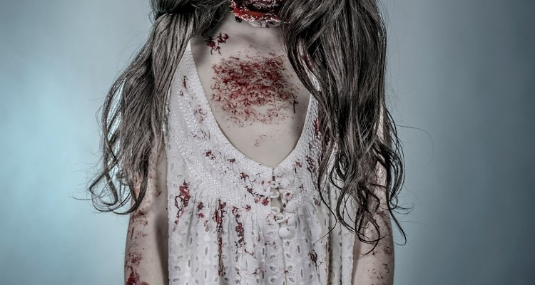 Make a kid's Zombie costume