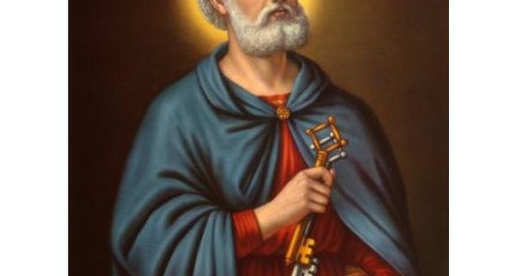 Pedro fue el primer pontífice de la iglesia católica.