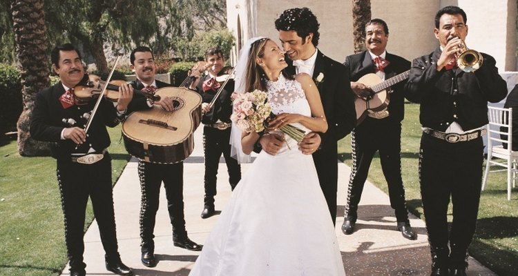 Mariachi bands perform at weddings and other celebrations.