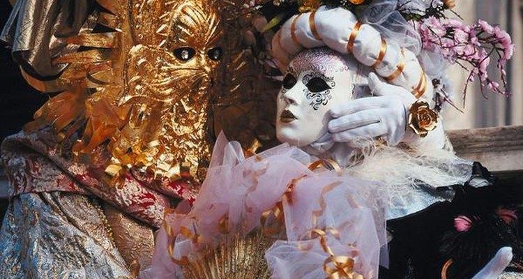 As máscaras de Veneza