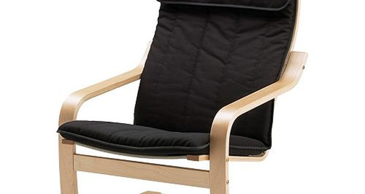 The Poang chair is made by Ikea.