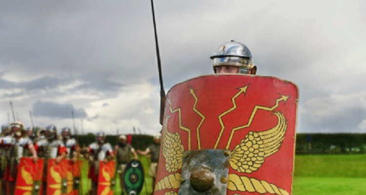 The shield is an essential component to any Roman soldier costume.