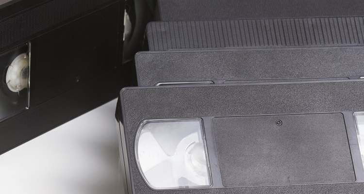 Declutter by getting rid of all those bulky old VHS tapes.