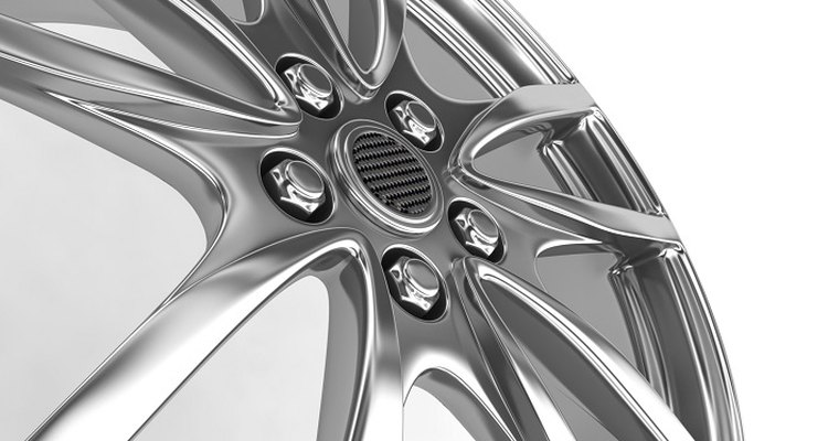 A clear coat will protect your car's aluminium wheels.