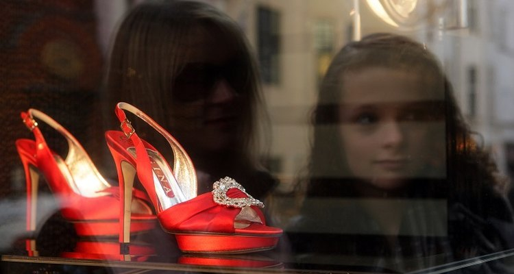 Stock a mix of high-fashion shoes and practical favourites to attract shoppers.