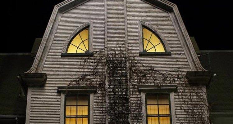 Fachada de la casa de Amytiville.