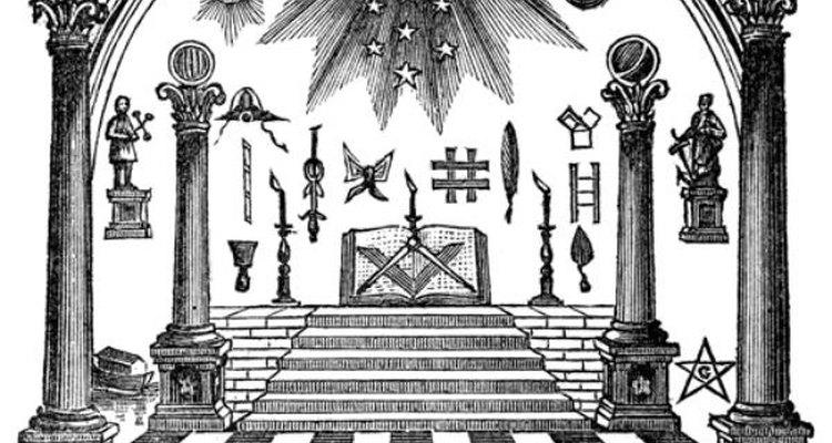 Símbolos masones.