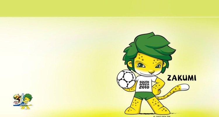 O leopardo Zakumi foi o mascote oficial da Copa do Mundo da África do Sul