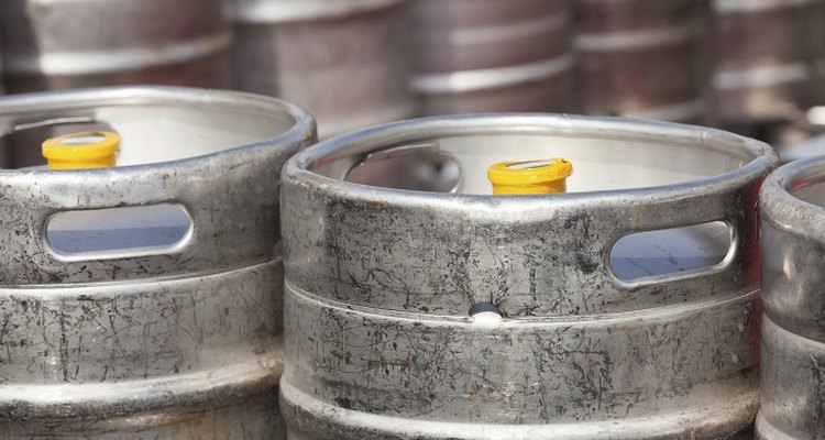 Keep your beer chilled by cooling the kegs.