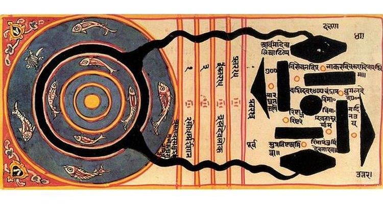 Explicación japonesa dada a los agujeros negros en el siglo XVIII.