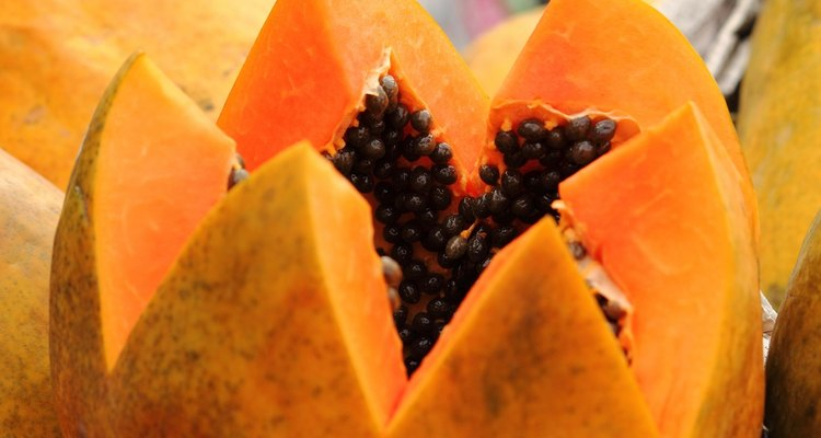 Papaya has a sweet smell and antioxidant properties that make for a wonderful soap.