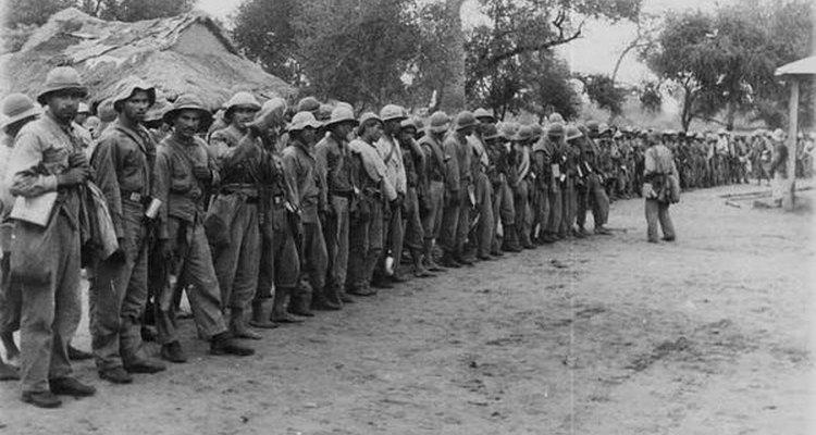 Fotografía tomada por un médico en la Guerra del Chaco.