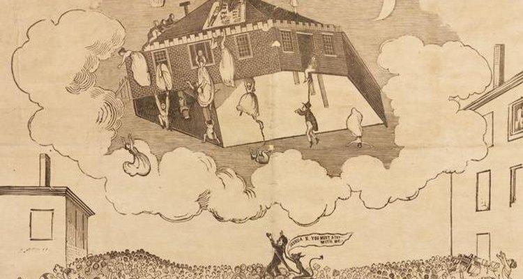 Ilustración del fin de los tiempos acorde a William Miller.