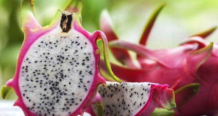 A pitaia produz um fruto comestível adocicado