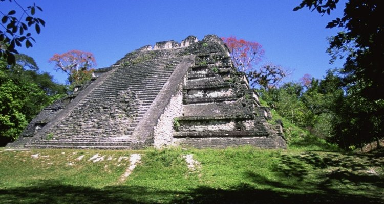 The temple of Tikal in Guatemala is one of the most famous Maya sites.