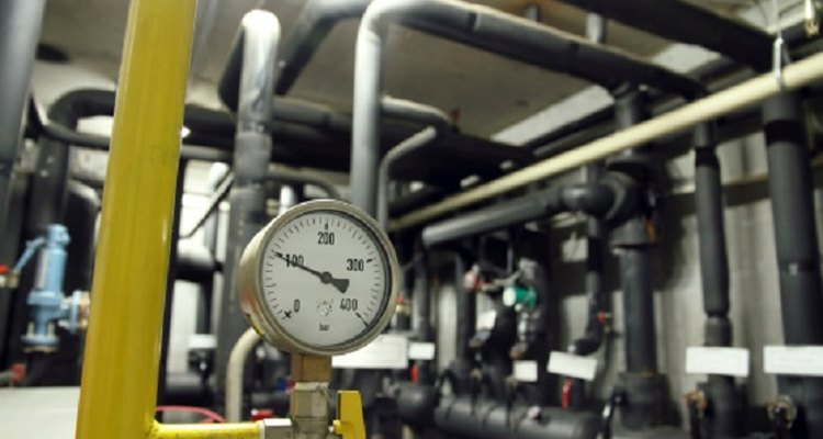 A pipe's pressure determines its flow rate.
