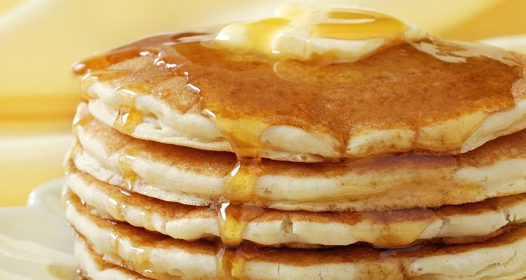 You can make packet pancakes taste almost as good as homemade.