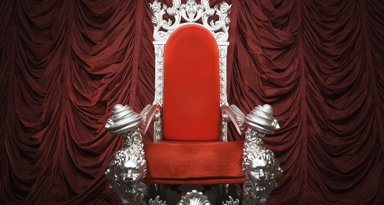 Unleash your creative streak, and transform a chair into a throne.