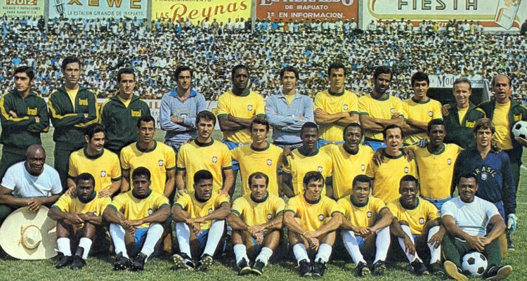 Além de Pelé, a seleção contava com Jairzinho, Tostão e Gérson