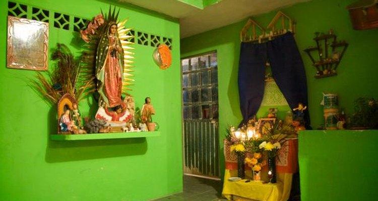 Altar en Catemaco.