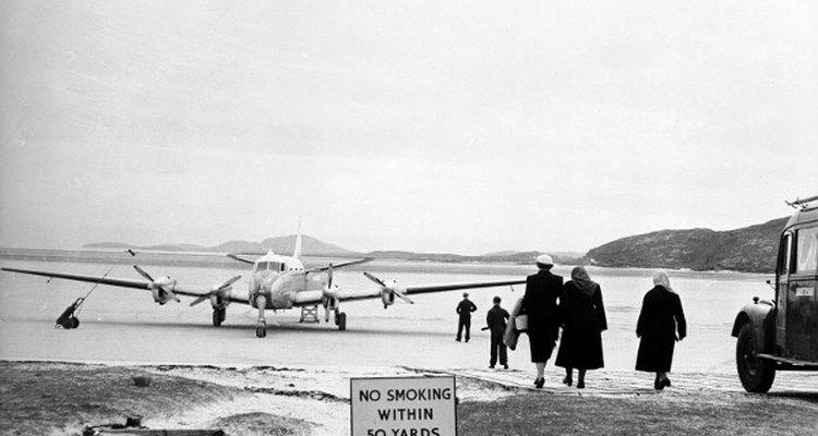 Esta praia é a única no mundo a comportar um aeroporto