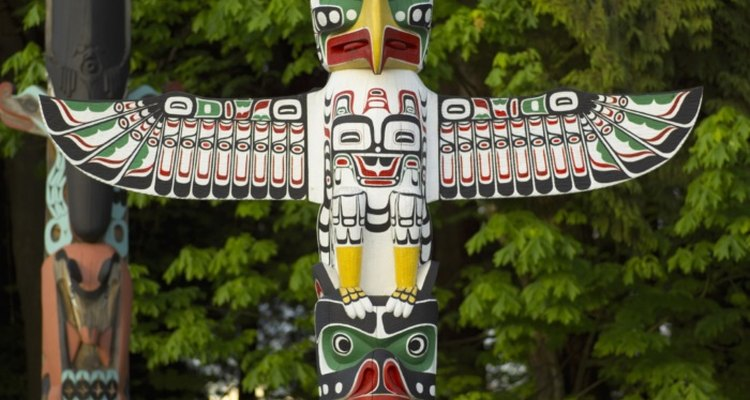 Totem poles are made by indigenous people of the Northwestern United States.