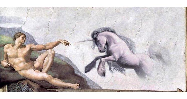 La religión del Unicornio Rosa Invisible ridiculiza las a las religiones convencionales.