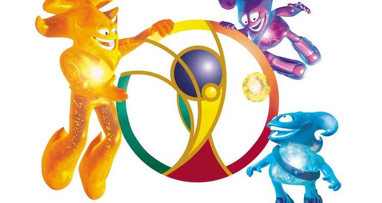 A Copa do Mundo de 2002, teve três mascotes: Nik, Ato e Kaz