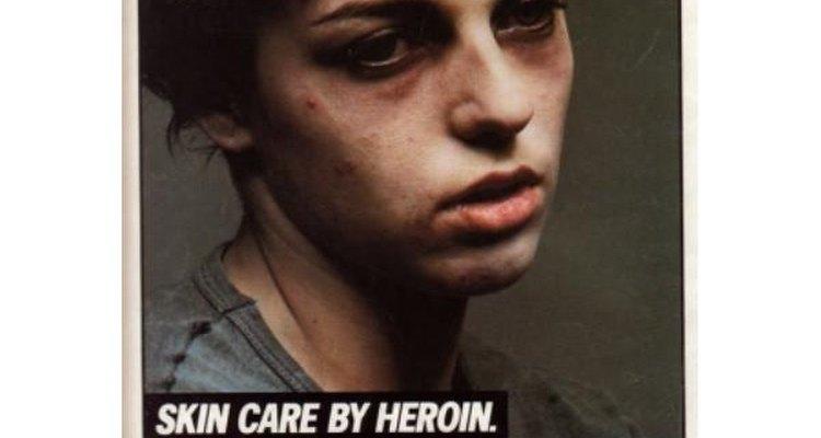 Alarmadas por el aumento del consumo de heroína, las autoridades lanzaron una campaña anti drogas.
