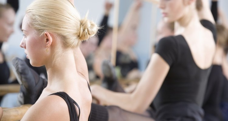 The height of a ballet bar will vary depending on the needs of its users.