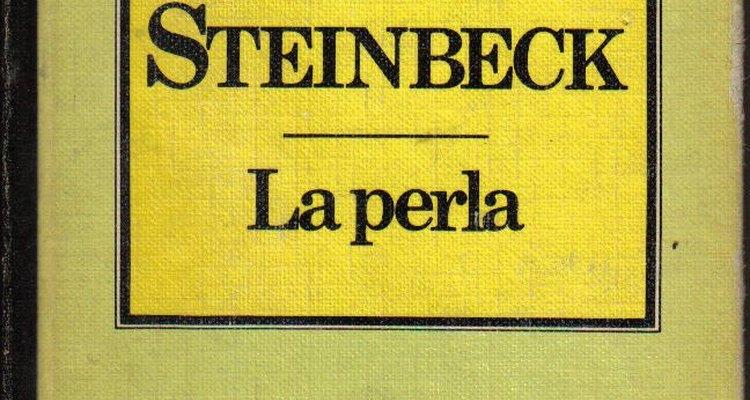 "John Steinbeck, autor de ""La perla""."