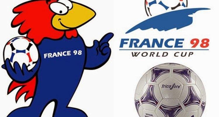 O mascote da Copa do Mundo da França foi um galo, que é um símbolo do país