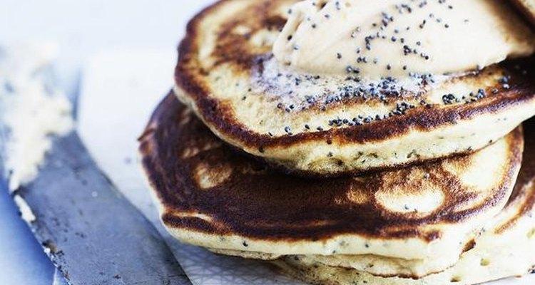Sizzling: a pancake