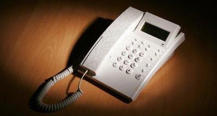 Executar uma linha de estensão de telefone