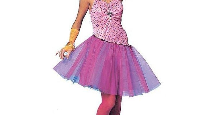 Haz un disfraz de los 80's para mujeres