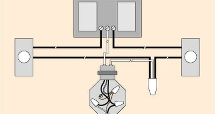 Esquema de un circuito de timbre