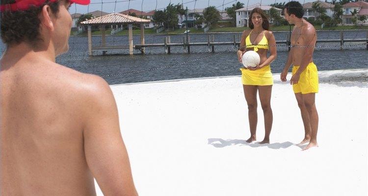 Faça uma quadra de voleibol no quintal