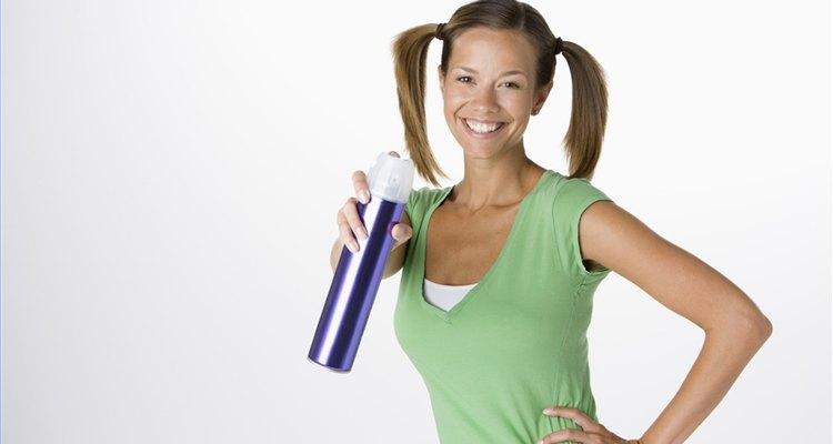 Hacer laca natural para el cabello