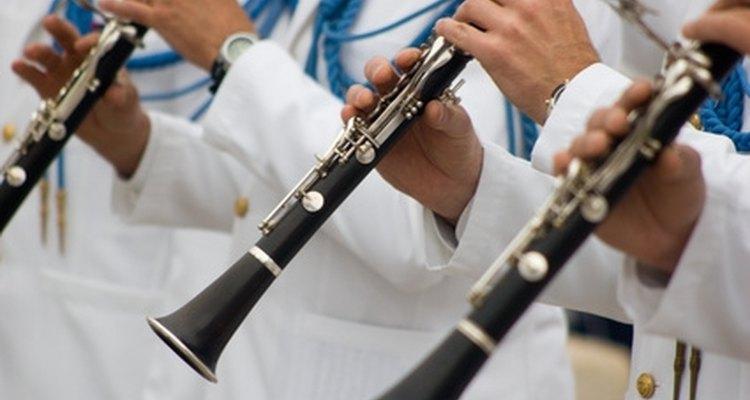 Trinado em um clarinete