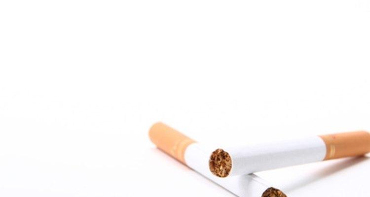 Faça cigarros de mentira