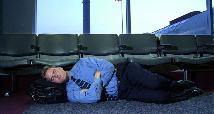 Durma confortavelmente no chão