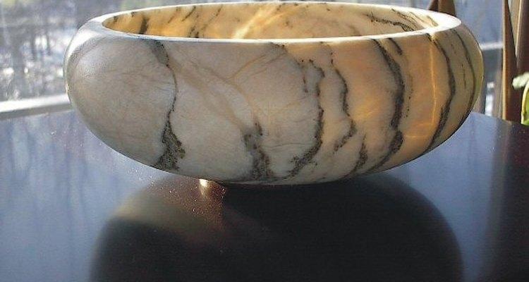 Alabastro é uma bela pedra macia