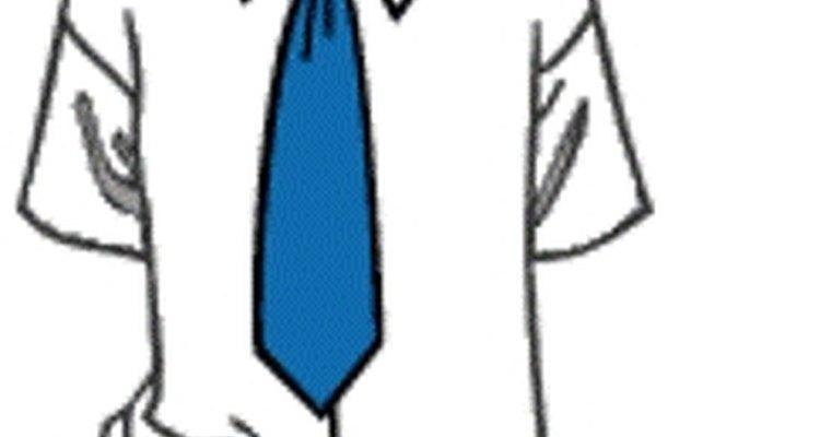 El estilo de corbata Windsor.