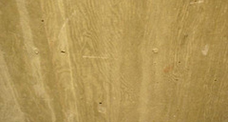 Textura de madeira em concreto