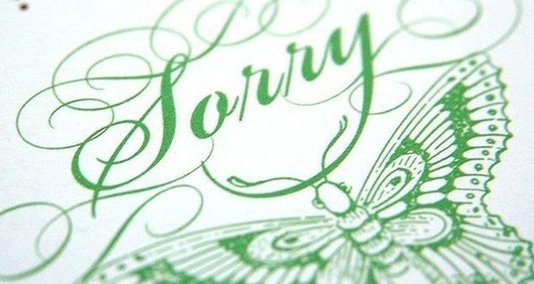 Aprenda a pedir desculpas de forma criativa