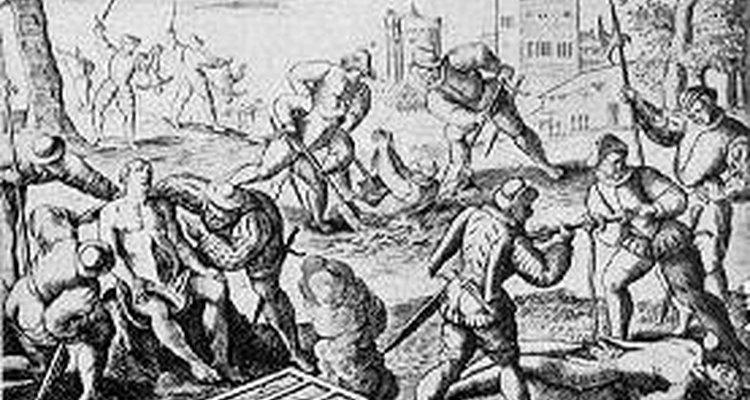 Aprende sobre la tortura en la época colonial.