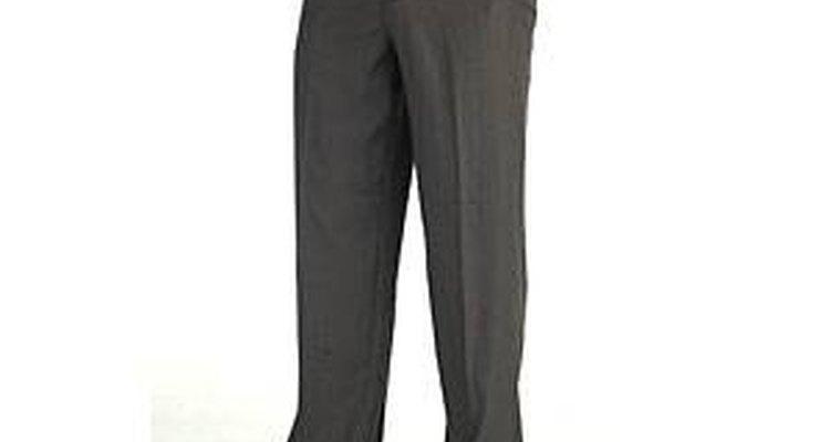 Los pantalones con mezcla de licra son muy cómodos.