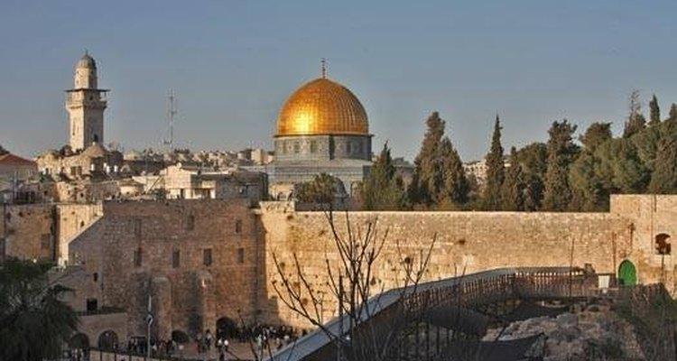 La ciudad de Jerusalén.