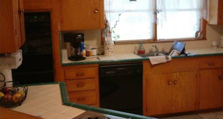 Renovando os armários da cozinha