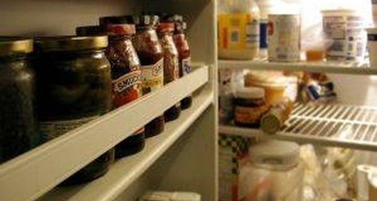 Limpia el moho del refrigerador.
